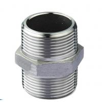 佛山信烨管道304不锈钢对丝 4分双头外丝螺纹直接头 好品质水暖对接