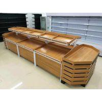 商超散货柜 杂粮柜生产厂家 永辉款超市水果架 钢木蔬果架 厂家直销