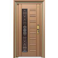 安全防盗门 304不锈钢韩式门 不锈钢门生产厂家
