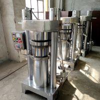 新型自动出饼香油机 立式液压榨油机 4kg芝麻榨油机豫太机械