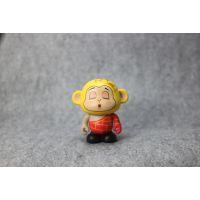 东莞厂家卡通PVC公仔定制小龙创意注塑3D玩偶汽车摆件生产工厂