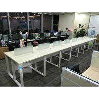 厂家让利 低价出售钢架办公桌组合位员工工位卡座办公桌
