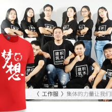 哈尔滨厂家批量定制工作服劳保服T恤衫