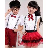 新款六一儿童合唱服 诗歌朗诵表演服 纱裙 中小学生演出校服