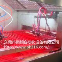 电吹风五轴往复喷涂机 鹏鲲专业技术制造质量保证,电吹风五轴往复喷涂机