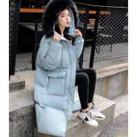 地摊清货18元杂款棉服批发厂家2018韩版时尚羽绒服帽子长款棉服批发