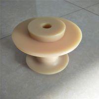 尼龙管 定做米黄色尼龙板 耐磨韧性尼龙轴套