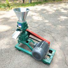 养殖业机械 家用家禽饲料平模颗粒机 小型鸡饲料颗粒机