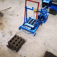 垣华操作简单移动式砌块机 节能型小型水泥砖机 高产量水泥免烧砖机