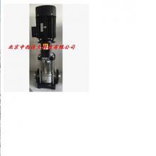 中西 不锈钢多级泵/轻型立式多级离心泵 型号:HDU6-CDL3-7库号:M238385
