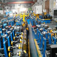 安徽高频直缝焊管机组 钢管成型机 矩形管焊接成型机内焊缝整平机