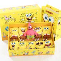海绵宝宝公仔 派大星毛绒玩具小玩偶海绵宝宝包包挂件送生日礼物
