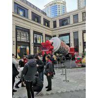 上海喜茶的卡车巨型扭蛋机