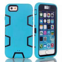 苹果iPhone6双层全包边保护防摔防滑硬壳6s 4.7硅胶系列新款创意