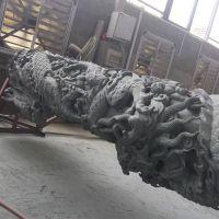 厂家直销石雕广场文化柱盘龙柱石材华表园林景观石柱定制汉白玉柱