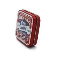 翻盖铁盒子 铰链铁盒 保健品小铁盒 防冻药膏铁盒专业定制