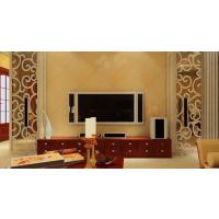 上海厂家专业定制电视背景墙边框装饰通花板玄关隔断雕刻板镂空板