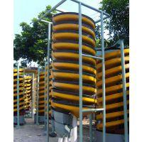 厂家大量供应BLL-600型玻璃钢螺旋溜槽 玻璃钢螺旋溜槽 洗煤螺旋溜槽