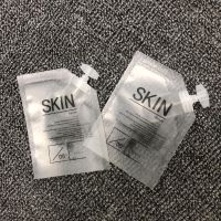 现货供应10ML化妆品试用装包材 乳液护肤品分装旅行便携小吸嘴袋 沐浴露洗发水磨砂带嘴塑料袋子