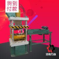 自动静压垫块砖机 多功能水泥垫块砖机 液压免烧砖机推荐河南万纵