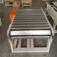 肉鸡屠宰分割链板输送机 六九冰箱不锈钢链板输送机厂家