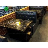 哪里有定制餐饮火锅大理石桌子的 串串香 斑鱼中式主题火锅桌 深圳多多乐家具 送货安装