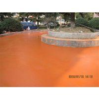 丹阳彩色压印地坪 园林道路压印地坪材料厂家