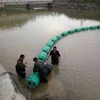 浮筒式拦污绳挂网拦污漂制作方法