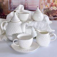 奥美瓷业批发英式下午茶杯 定制骨质瓷咖啡杯碟套装
