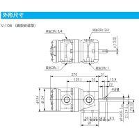 V-108-DD-10-JA-J定量叶片泵TokyoKeiki东京计器TOKIMEC东机美