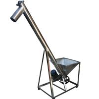 都用-垂直式菜籽提升机 2米高螺旋提升机 高粱螺旋上料机定做