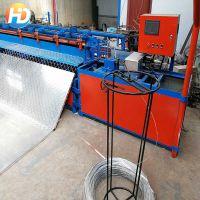 安平现货供应易操作菱形网机器,勾花网机器,煤矿支护网机器