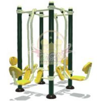 四川成都户外健身器材厂家直供 供应小区漫步机 扭腰器价格实惠