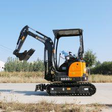 广西柳州简易座驾微型挖掘机价格表 全新20U农用小挖土机型号