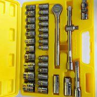 直销批发筒扳手套装汽修工具套装组合多功能工具箱套装