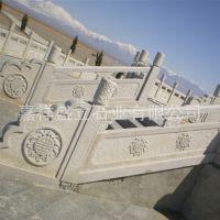 厂家直供雕花石栏杆 河道小桥石材护栏雕刻 大量批发