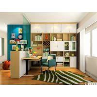 合肥书柜书架书桌组合家具定制厂家 书房家具