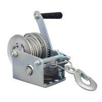自锁式钢丝绳绞盘手动手摇葫芦提升卷扬机绞盘轮牵引吊机小型家用