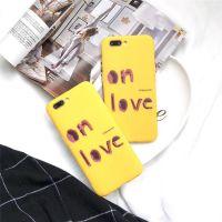 ins日韩 网红同款iPhone x 手机壳字母全包软壳oppo r11s硅胶套潮
