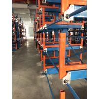 福建伸缩悬臂货架尺寸推荐 棒料存放架 不锈钢胶管存储架