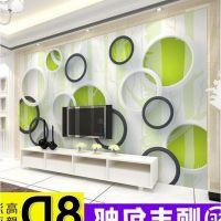 3d电视背景墙壁纸客厅5d立体壁画8d影视墙布无缝卧室现代简约墙纸