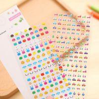 0577韩国卡通DIY小贴纸 可爱日记贴指甲贴手机贴纸 美甲贴迷你