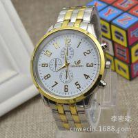 经典男士钢带手表 新款 热销 便宜 厂家批发各种石英高档手表