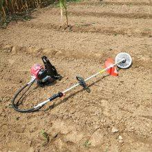 供应草坪汽油除草机 多功能背负式割草机