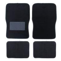汽车地毯式通用脚垫四件套四季通用脚垫无纺毯防滑PVC脚垫通用