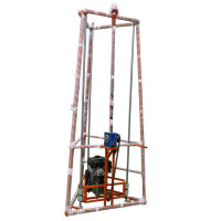 厂家直销 杰卓 三脚架挖坑机 大功率四冲程框架式挖坑机
