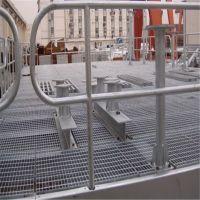 操作平台钢格栅 水沟钢盖板 钢铁厂踏步板