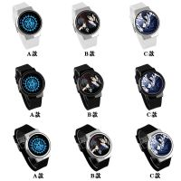 黑执事LED手表防水触屏电子表时尚男女表学生腕表生日礼物