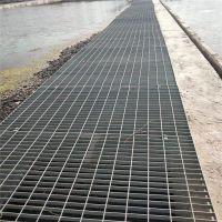 钢厂电缆通道专用格栅板 大连热镀锌钢格板 车间吊顶钢格栅