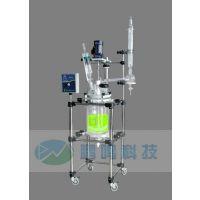 玻璃反应釜/双层玻璃反应釜/单层玻璃反应釜